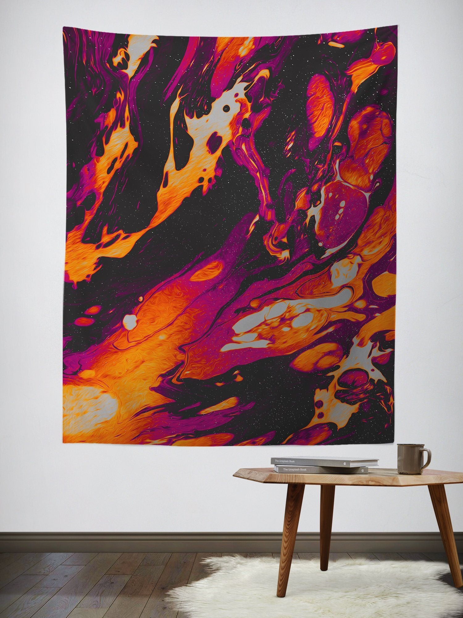 Alone in Kyoto Wall Tapestry Tapestry Electro Threads