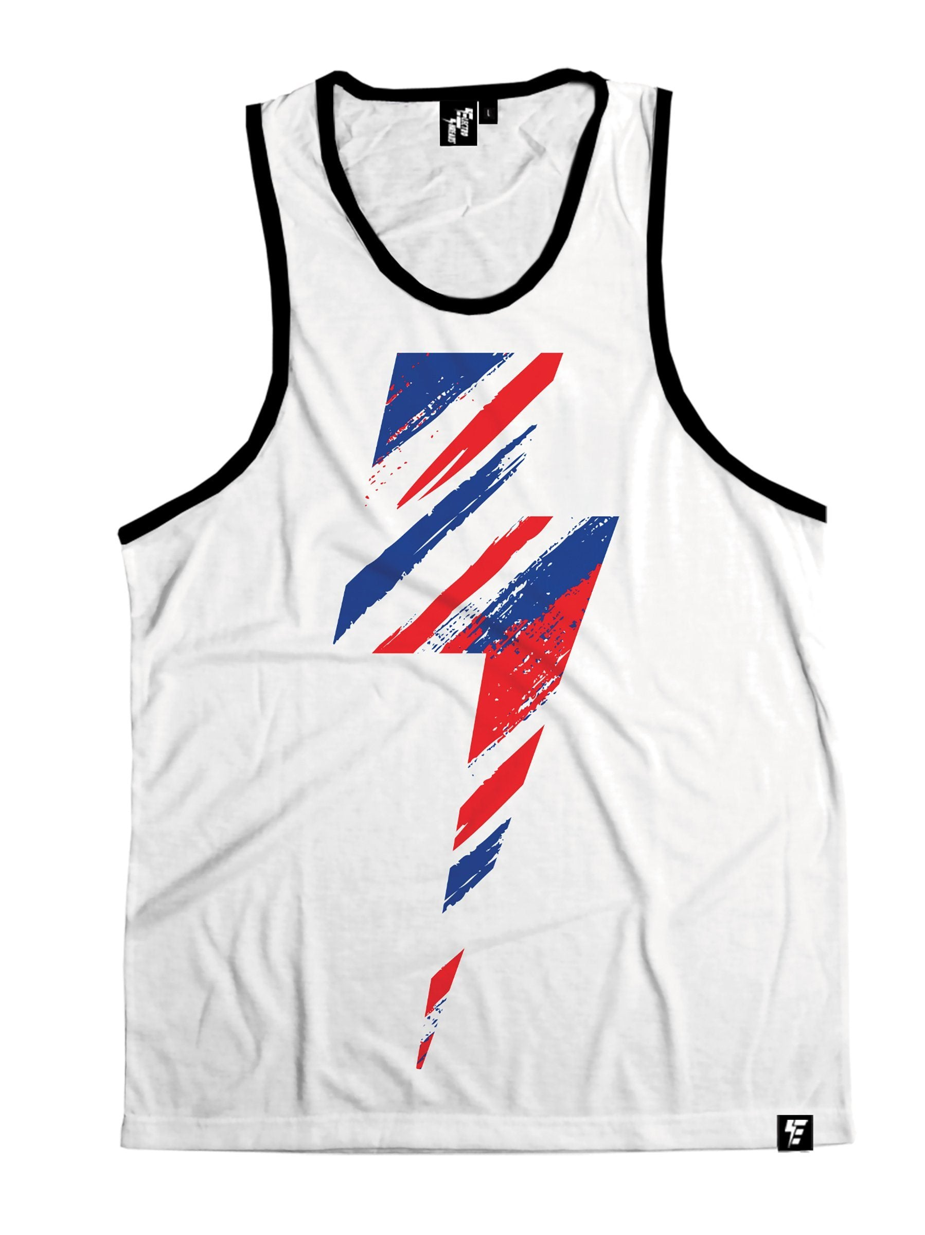 American Slasher Bolt Unisex Tank Top Tank Tops T6