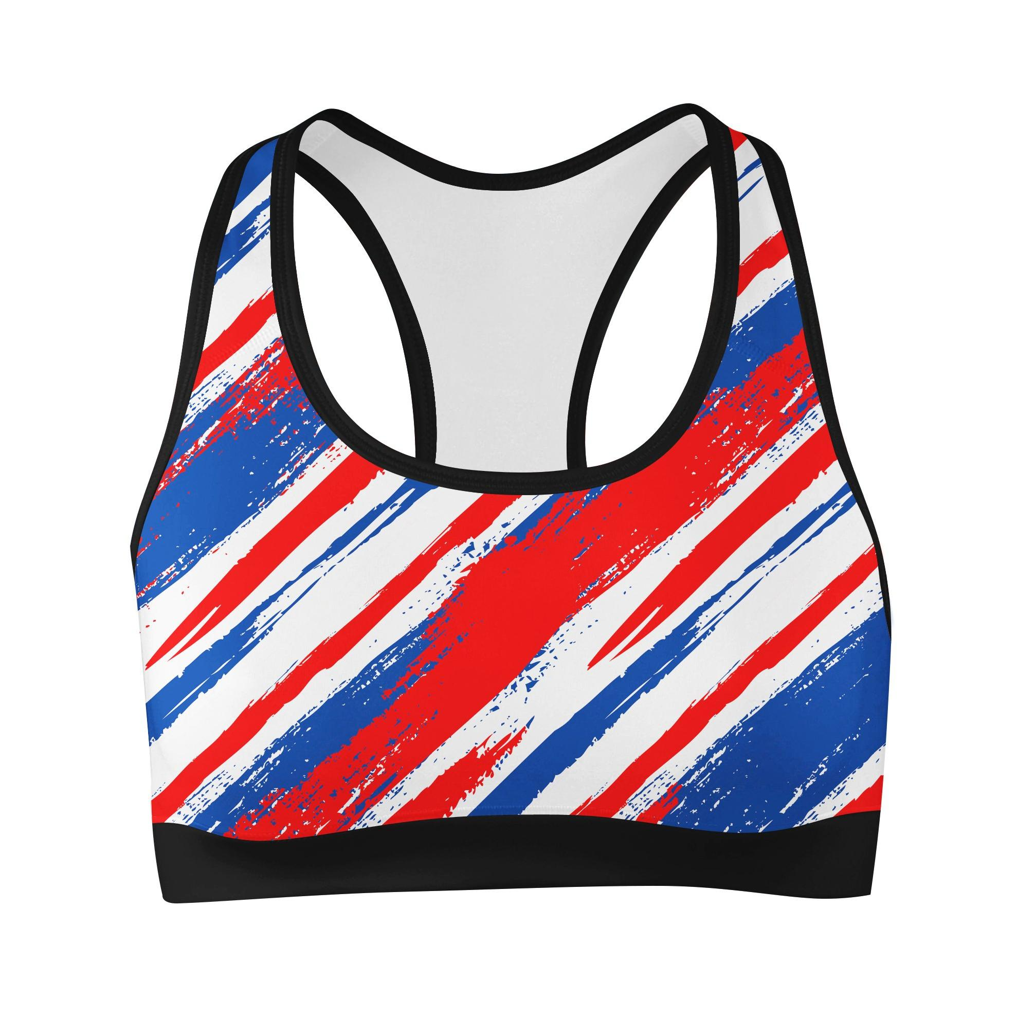 American Slasher Sports Bra Sports Bra T6