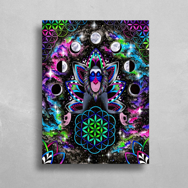 Astral Rafiki HD Metal Panel Print Ready to Hang HD Metal Print Electro Threads