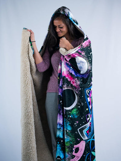 Astral Rafiki Hooded Blanket Hooded Blanket Electro Threads