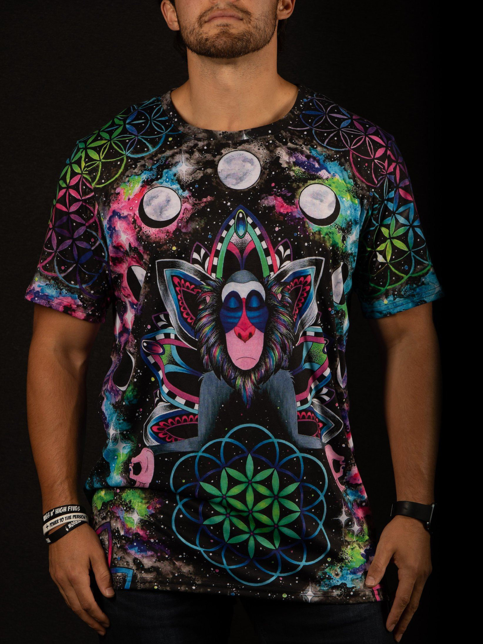 Astral Rafiki Unisex Crew T-Shirts Electro Threads