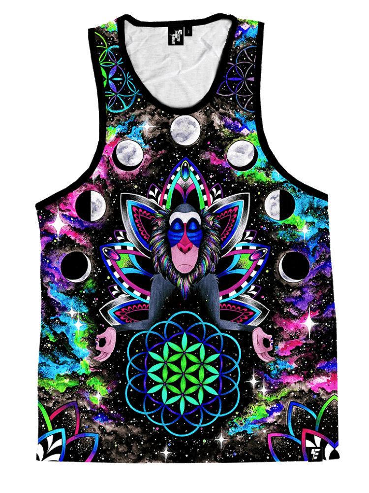 Astral Rafiki Unisex Tank Top Tank Tops T6 XS Black