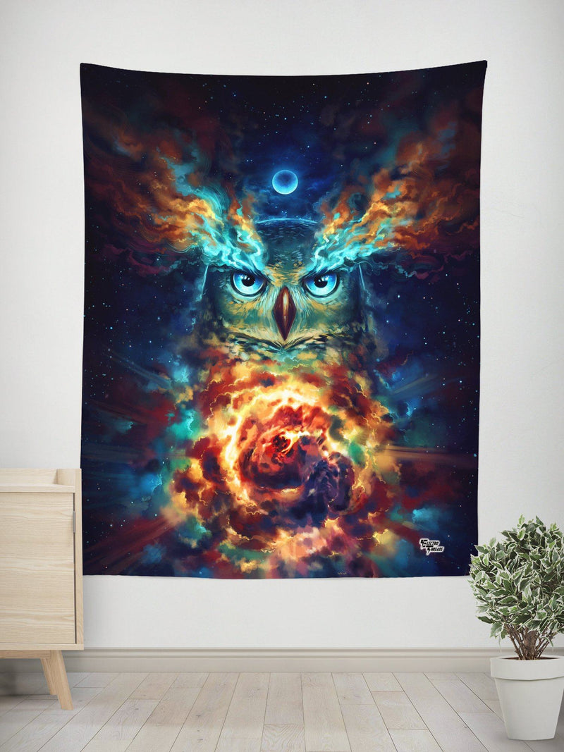 Aurowla Wall Tapestry Tapestry Electro Threads