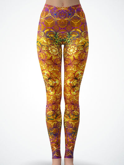 Autumn Mandala Tights Tights Electro Threads