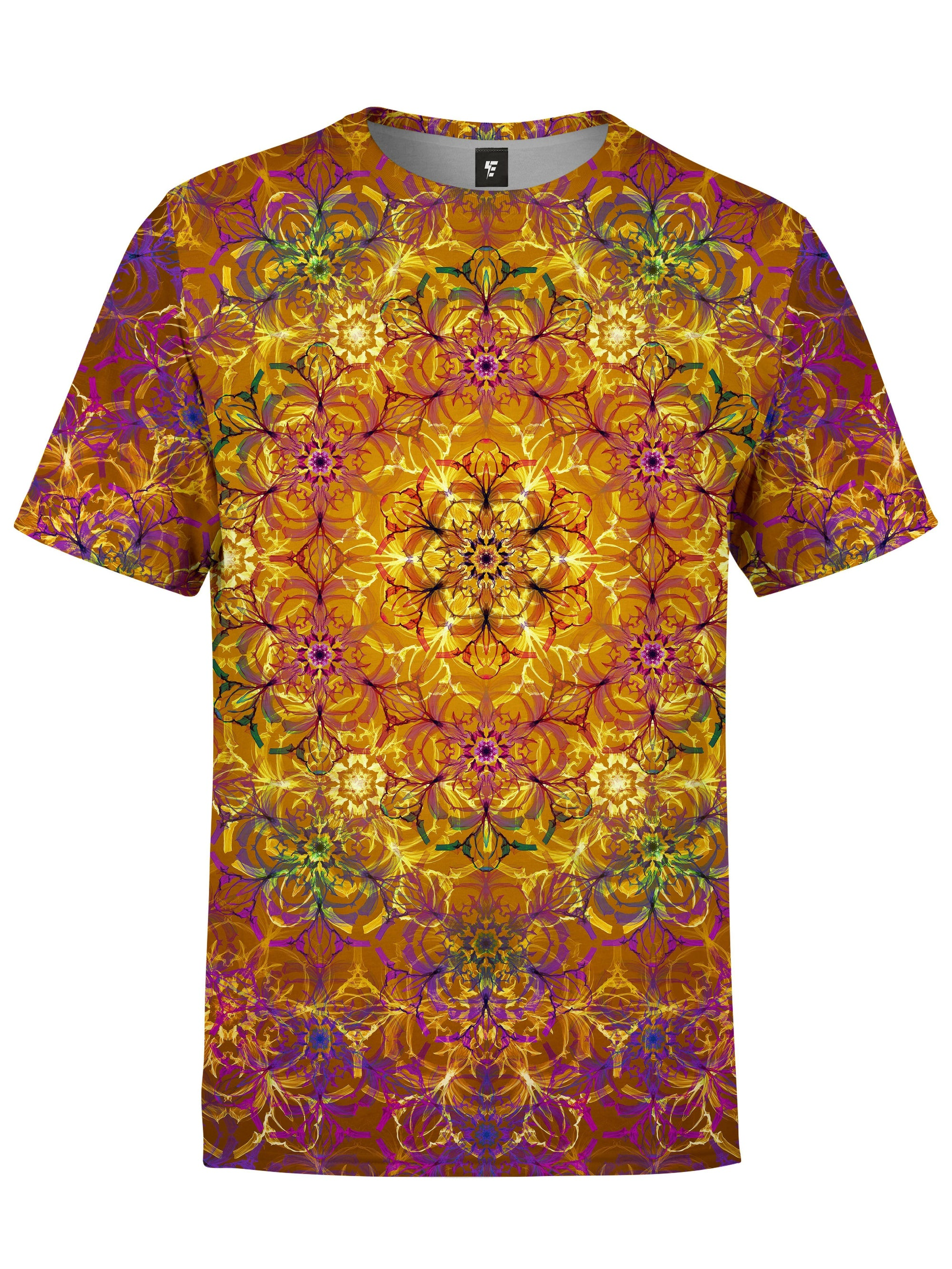Autumn Mandala Unisex Crew T-Shirts Electro Threads