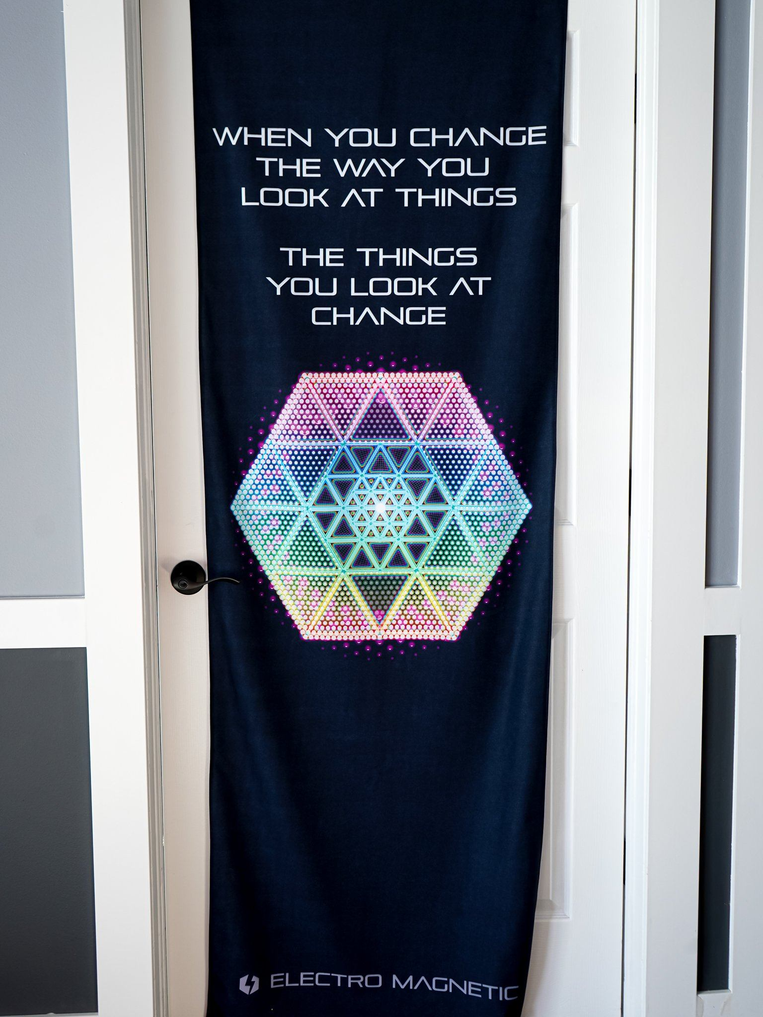 Awaken Door Wrap Door Cover Electro Threads