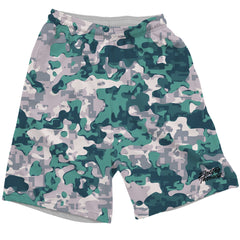BLEACHED CORAL CAMO SHORTS Mens Shorts T6