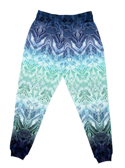 Blue Matrix Unisex Joggers Jogger Pant Electro Threads