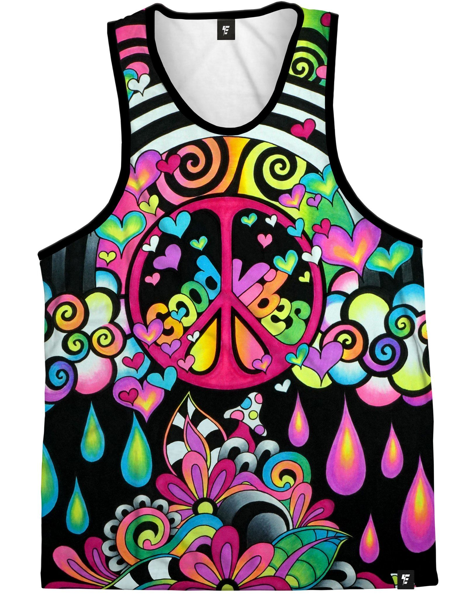 Brizmosphere Unisex Tank Top Tank Tops Electro Threads