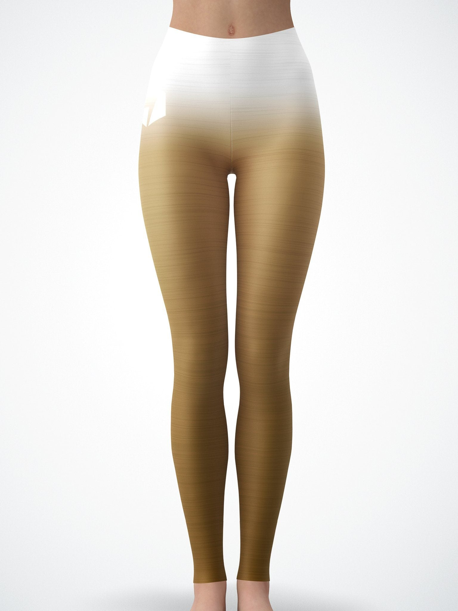 Bronze Crushed Velvet Tights Tights Electro Threads
