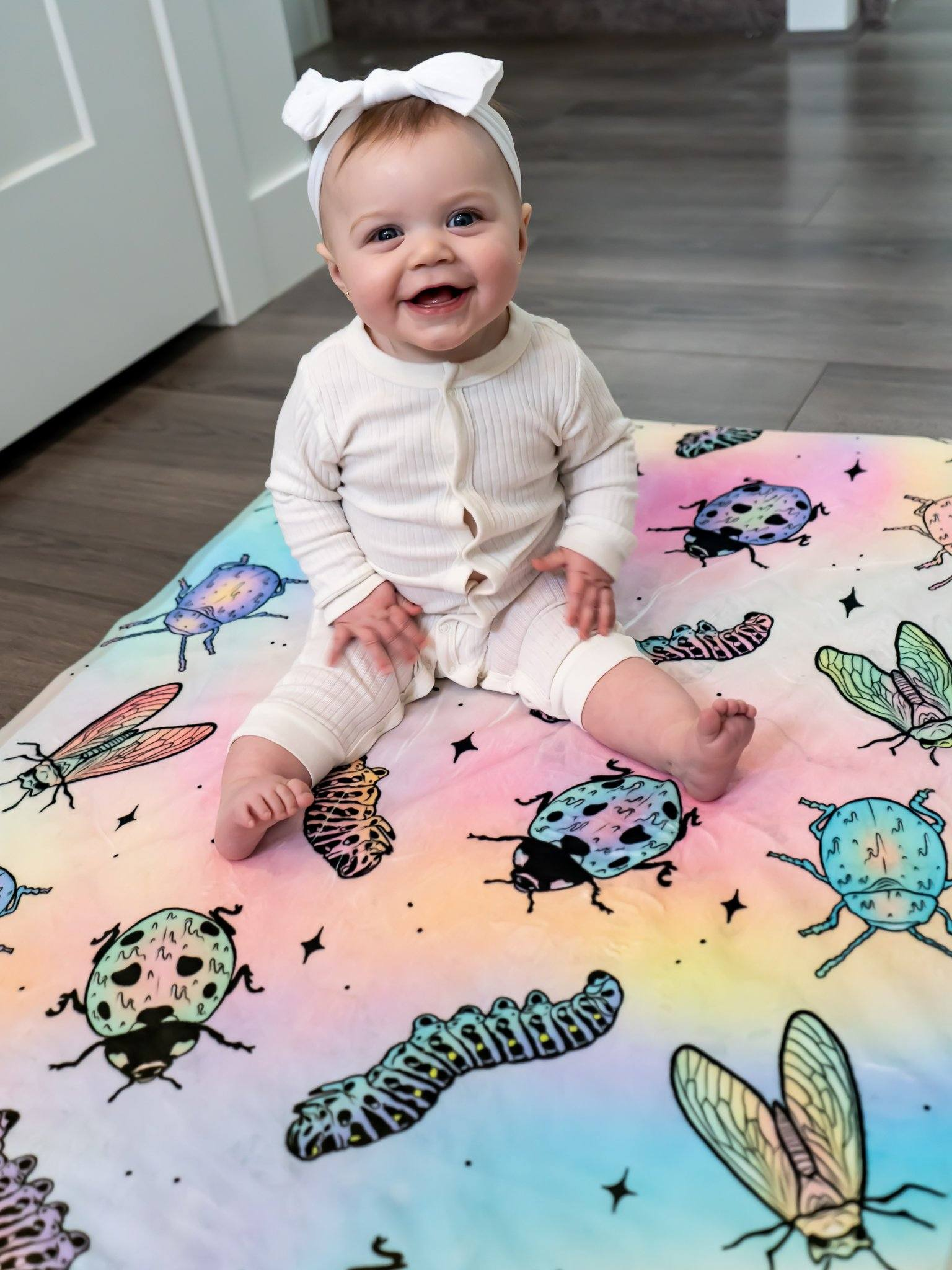 Bugs Baby Blanket Baby Blanket Electro Threads