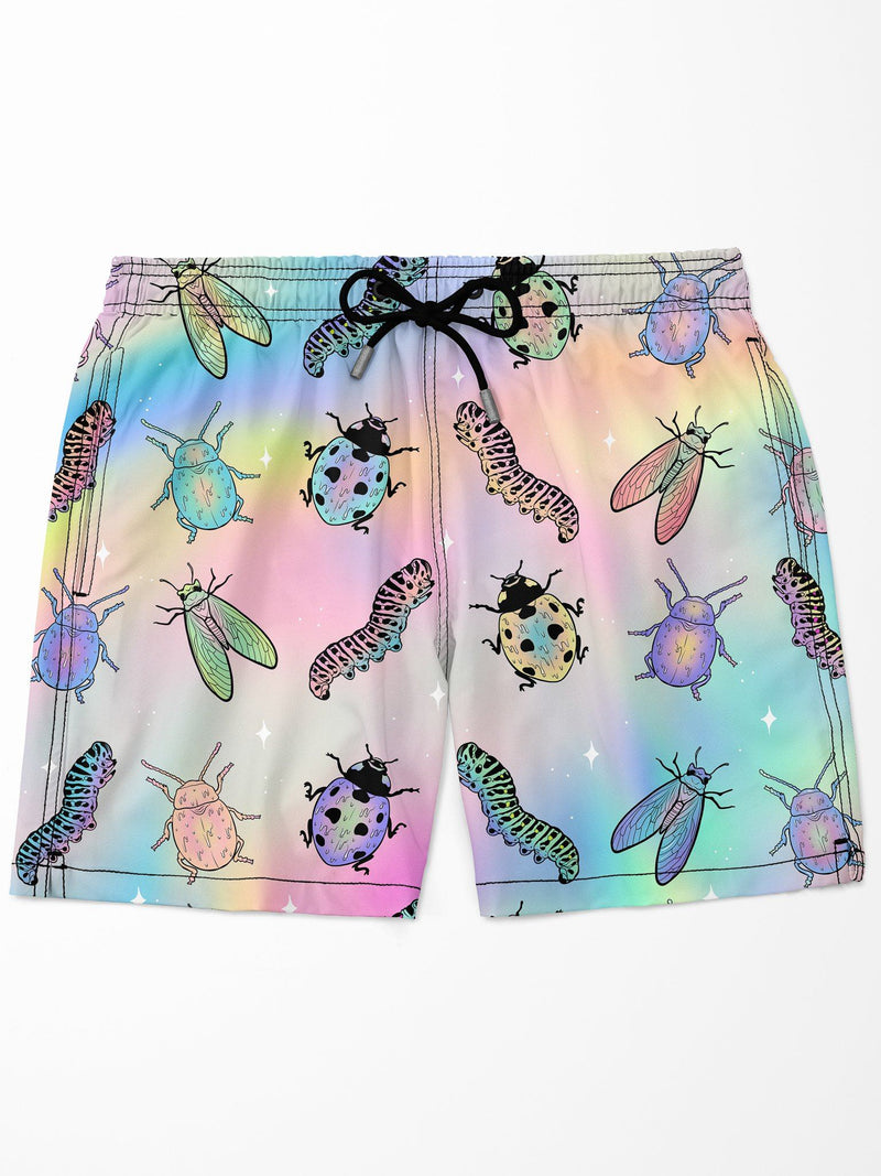 Bugs Swim Trunks Mens Swim Trunks Electro Threads
