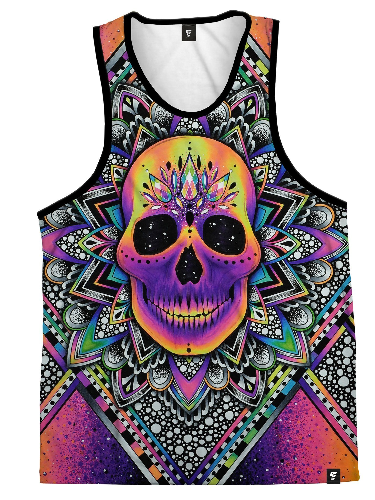 Burnout Unisex Tank Top Tank Tops Electro Threads