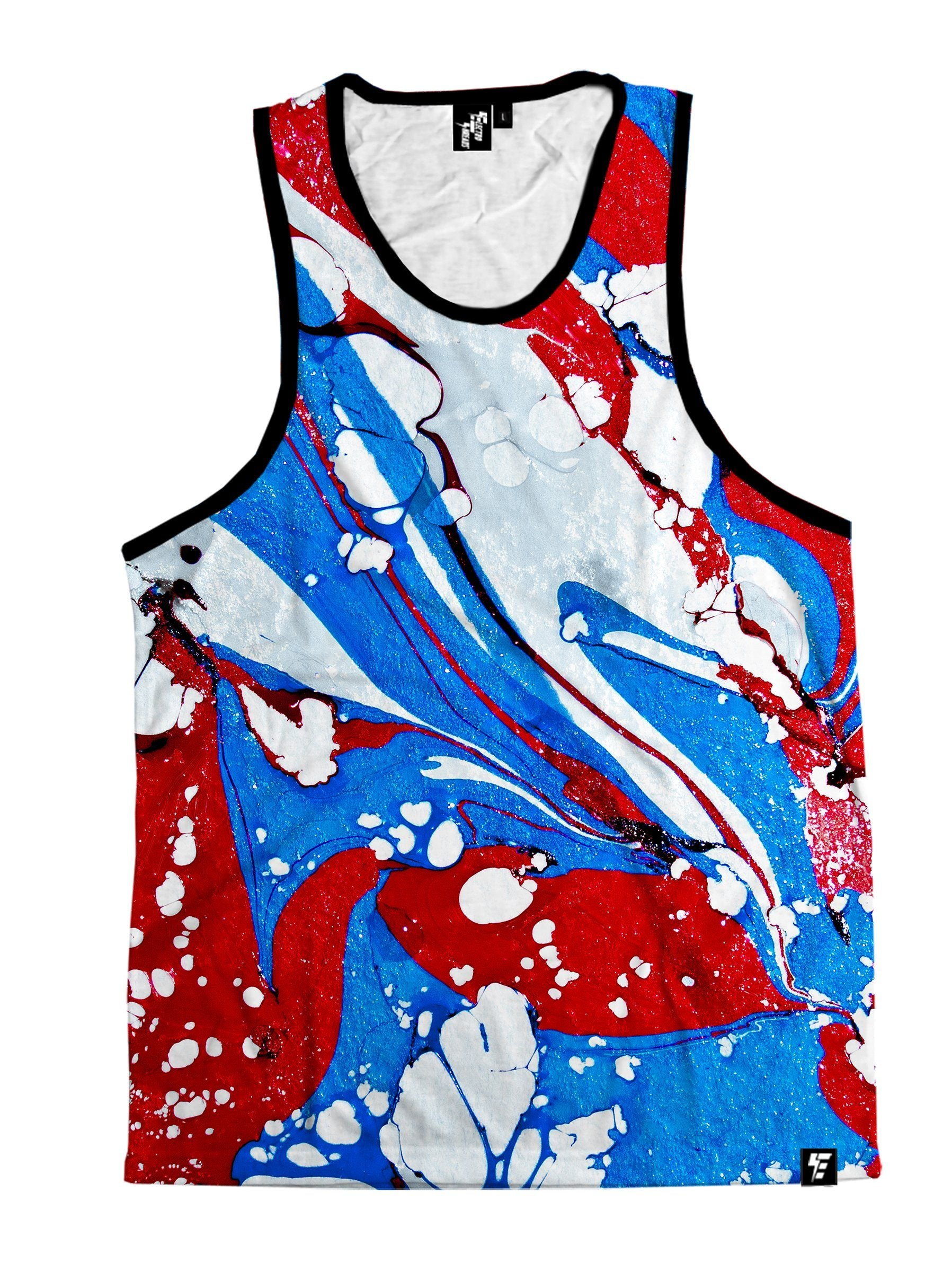 Captain Marble Unisex Tank Top Tank Tops T6