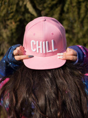 Chill Pink Snapback (RTS) Hat Electro Threads