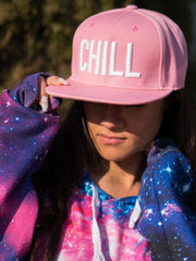 Chill Pink Snapback (RTS) Hat Electro Threads Pink
