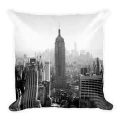 CityScape Pillow Throw Pillow Printful