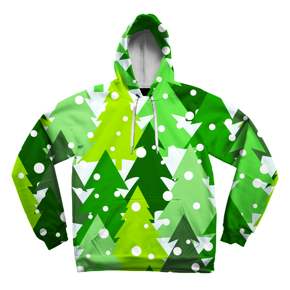 Classic Christmas Tree Unisex Hoodie Pullover Hoodies Electro Threads XS