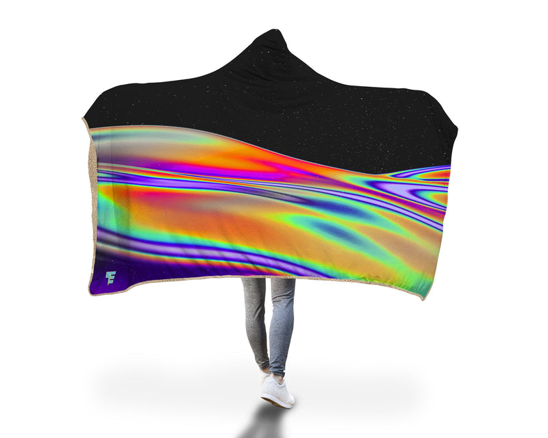 Coax Hooded Blanket Hooded Blanket Electro Threads