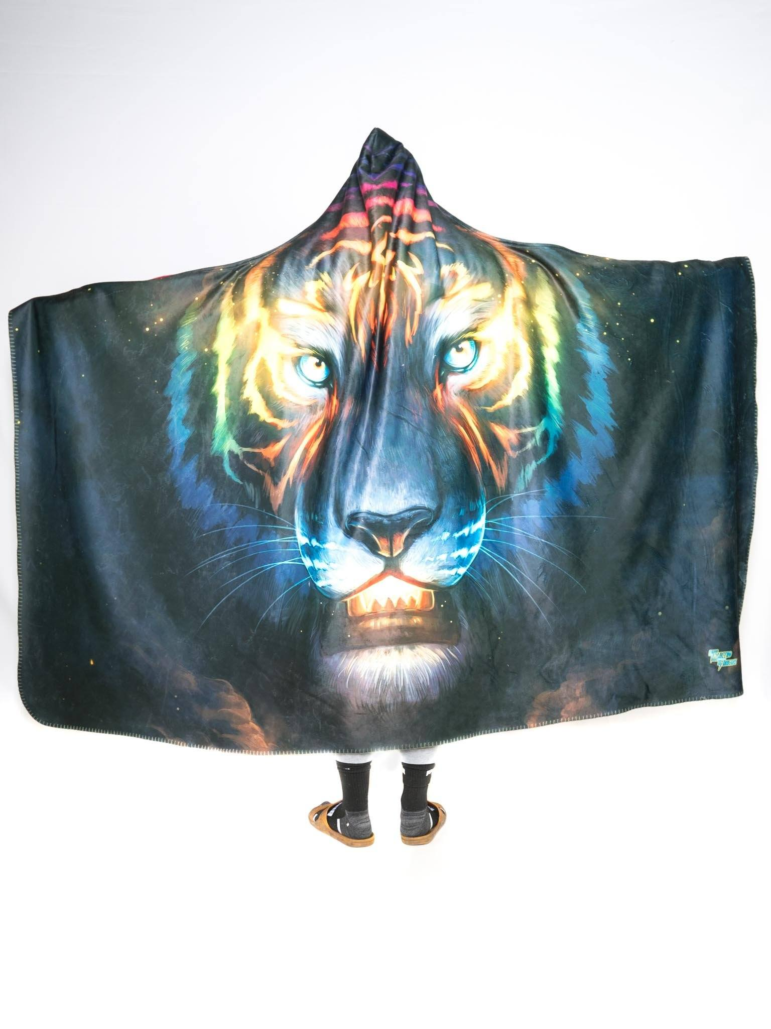 Color Soul Hooded Blanket Hooded Blanket Electro Threads