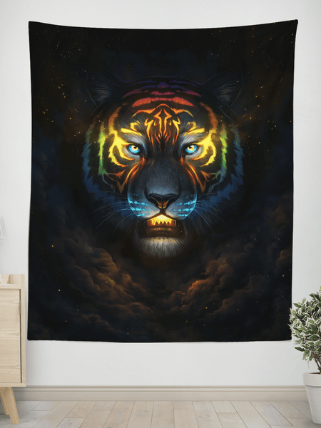 Color Soul Wall Tapestry Tapestry Electro Threads