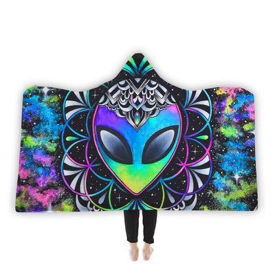 Conscious Cosmos Hooded Blanket Hooded Blanket Electro Threads