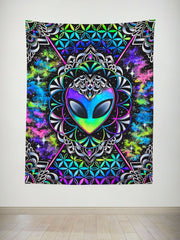 Conscious Cosmos Tapestry Tapestry Electro Threads
