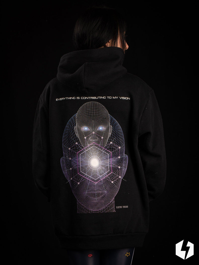 Consciousness Rising Pullover Hoodie Pullover Hoodies VISION