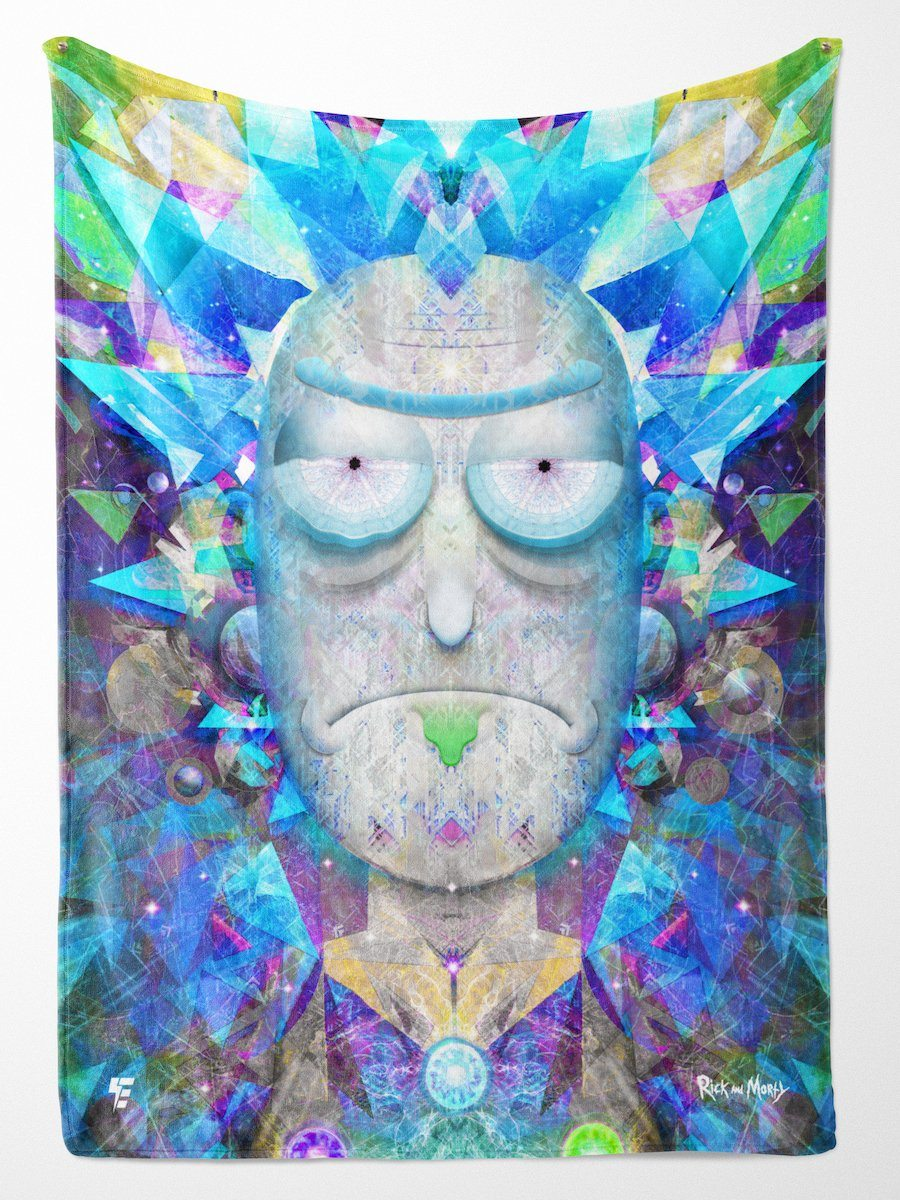 Cosmic Rick Blanket Blanket Electro Threads