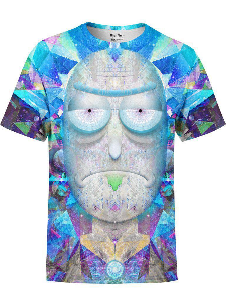 Cosmic Rick Unisex Crew T-Shirts Electro Threads