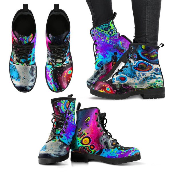 COSMIC TRIP Women's Leather Boots Women's Leather Boots Electro Threads
