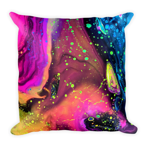 Cosmos Melt Throw Pillow Electro Threads Default Title