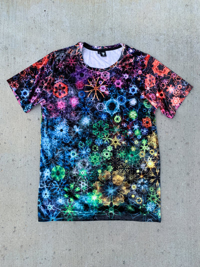Crushed Velvet Trippy Constellations Unisex Crew Velvet Crew T6