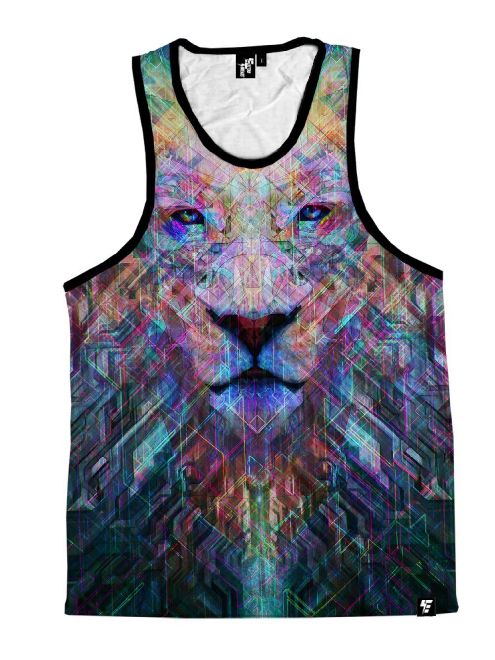 Crystal Lion Unisex Tank Top Tank Tops T6