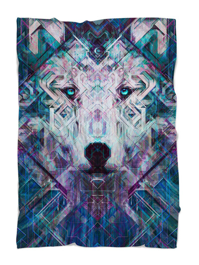 Crystal Wolf Blanket Blanket Electro Threads