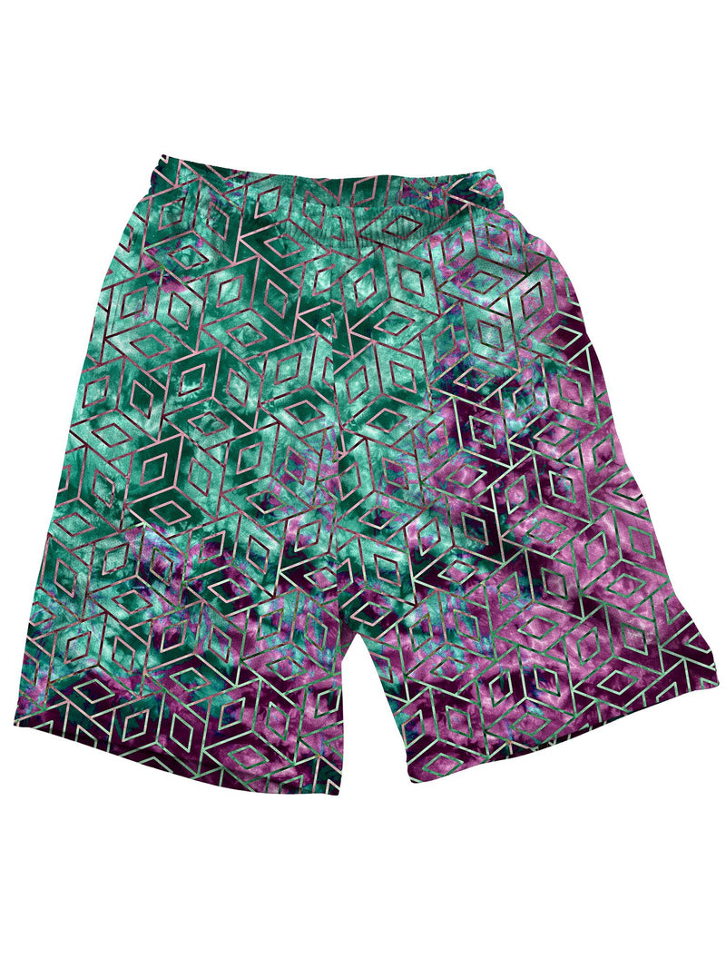 Cubic Nebula Shorts Mens Shorts Electro Threads