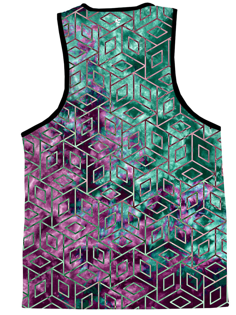 Cubic Nebula Unisex Tank Top Tank Tops Electro Threads