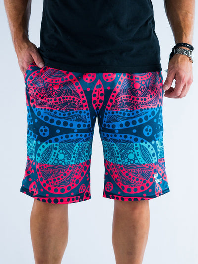 Dope Pattern Shorts Mens Shorts T6