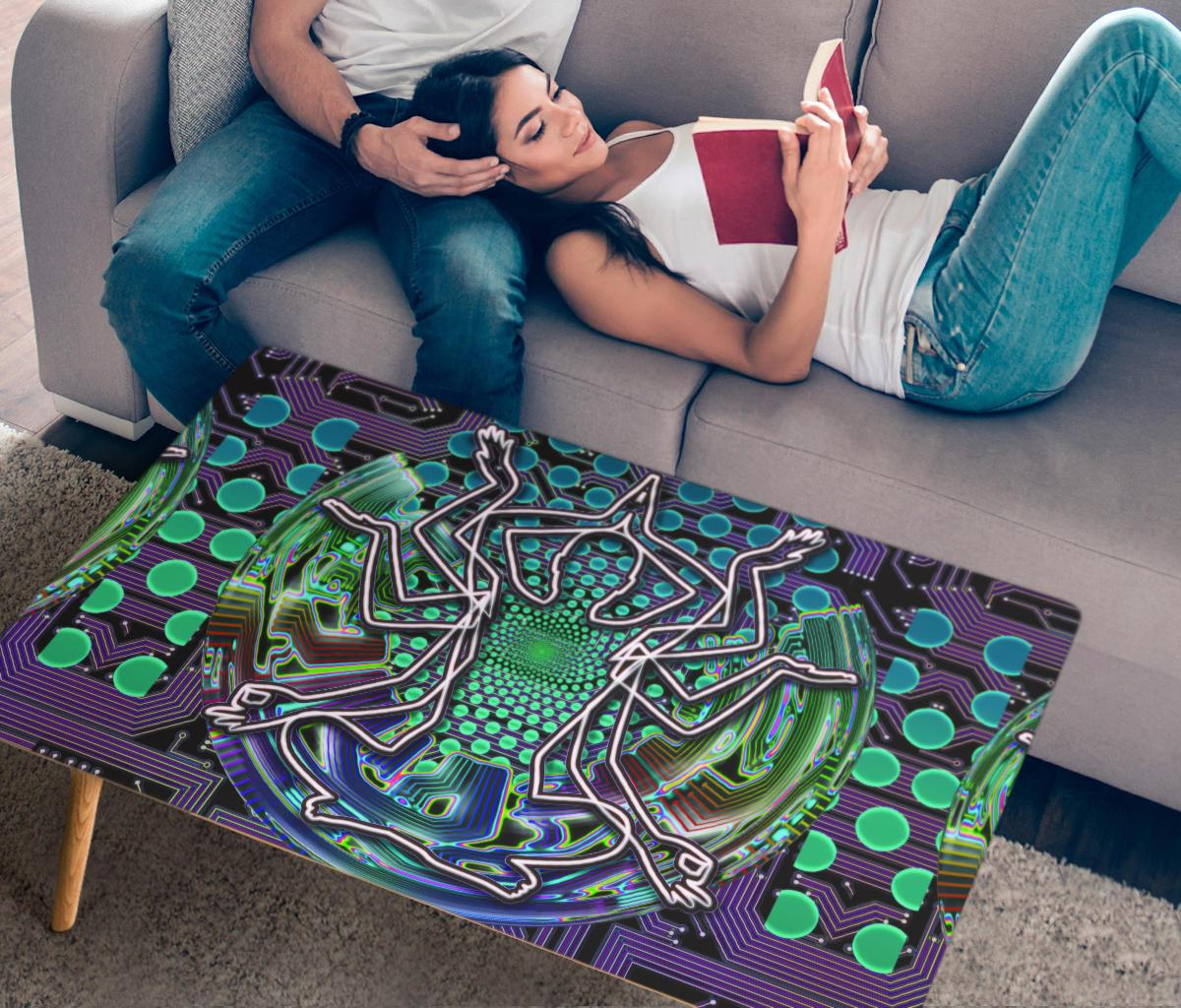 Dream Awake Coffee Table Coffee Table Electro Threads