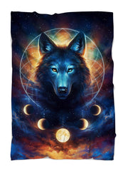 Dream Catcher Wolf Blanket Blanket Electro Threads