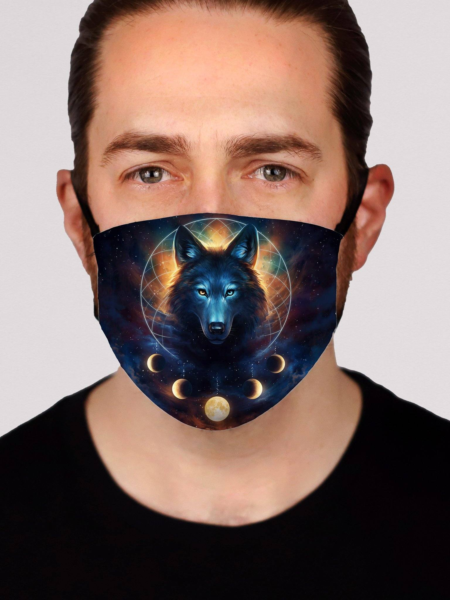 Dream Catcher Wolf Face Mask Face Masks Electro Threads