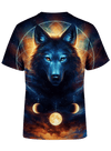 Dream Catcher Wolf Unisex Crew T-Shirts T6
