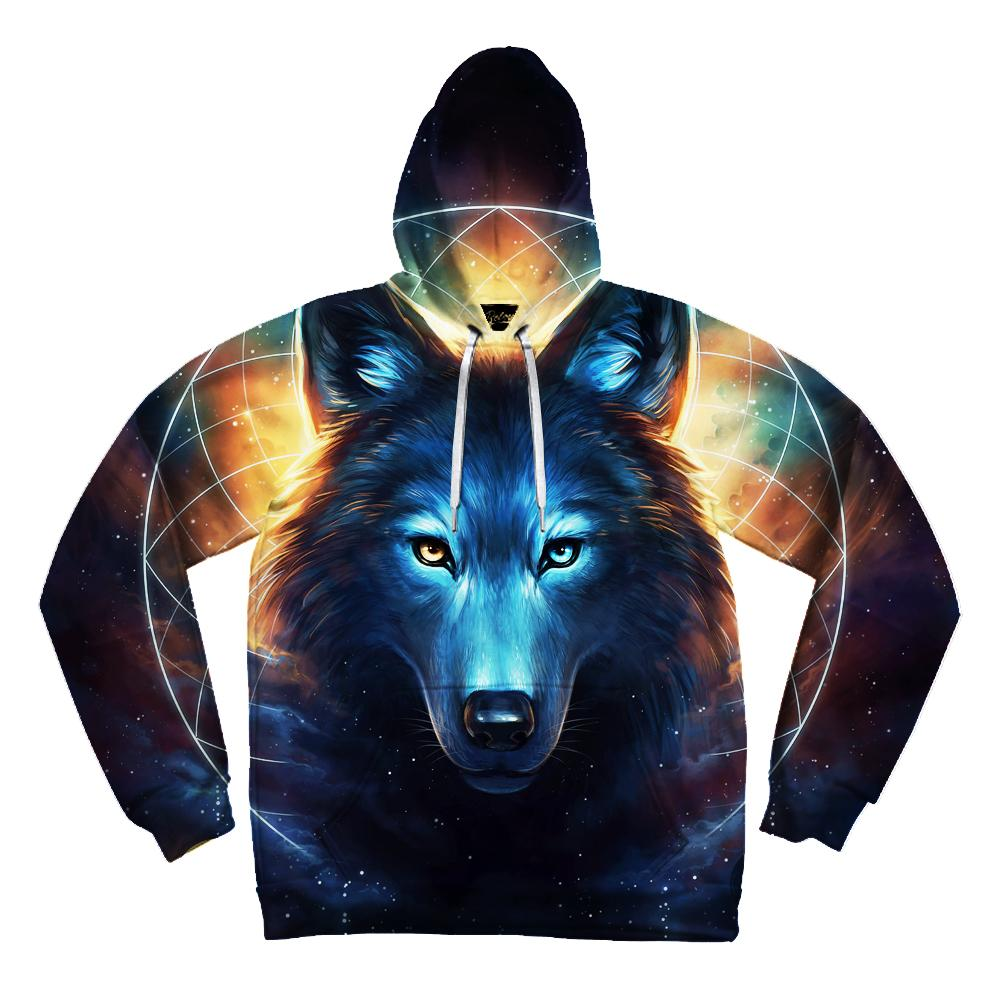 Dream Catcher Wolf Unisex Hoodie Pullover Hoodies T6