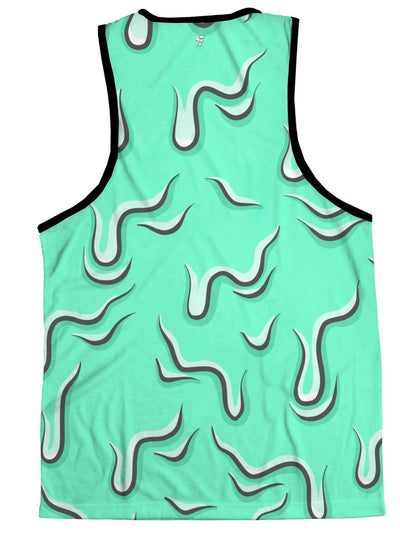 Drippy (Teal) Tank Tank Tops Electro Threads