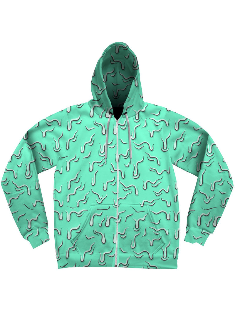 Drippy (Teal) Unisex Hoodie Pullover Hoodies Electro Threads