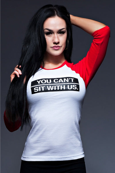 You Cant Sit With Us Baseball Long Sleeve - Electro Threads™