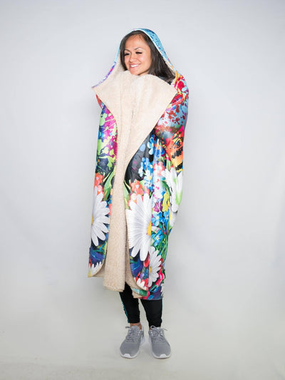 Electro Daisy Hooded Blanket Hooded Blanket Electro Threads