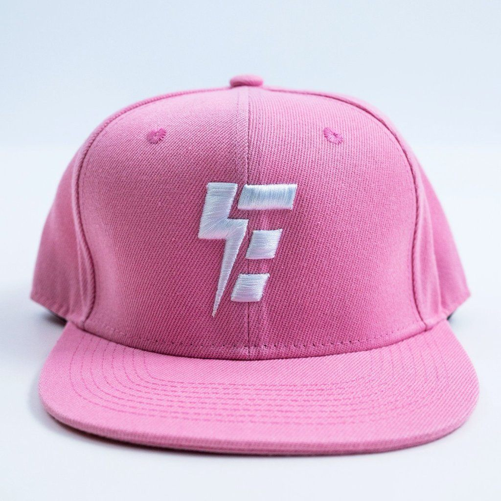 Electro E Pink Snapback (RTS) Hat Electro Threads Pink