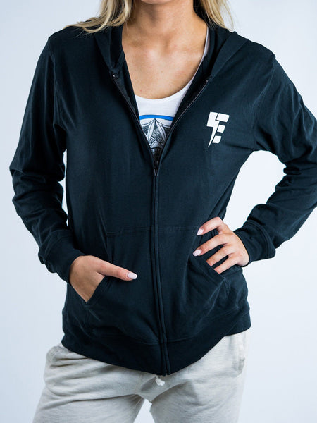 Electro Lightweight Unisex Zip-Up Hoodie Pullover Hoodies Electro Threads